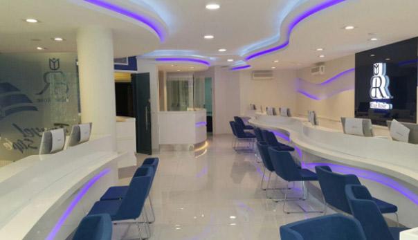 دکوراسیون و معماری آژانس رز آبی