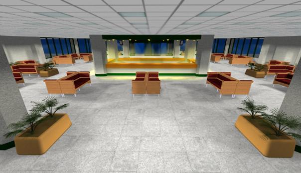 دکوراسیون و معماری بیمارستان لاله